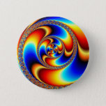 Twisted - Fractal Pinback Button