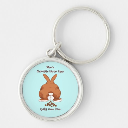 Twisted Funny Bunny Keychains
