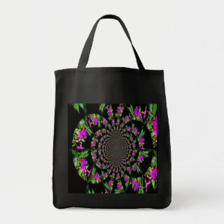 twisted fusia grocery tote grocery tote bag