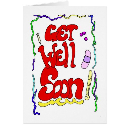 Twisted Get Well Greeting Card