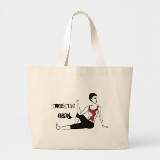 Twisted Girl - Funny Tote Bags