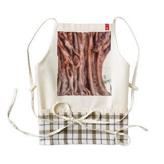 Twisted gnarled tree zazzle HEART apron