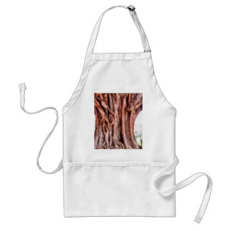 Twisted gnarled trunk adult apron