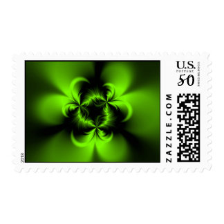Twisted Green Postage