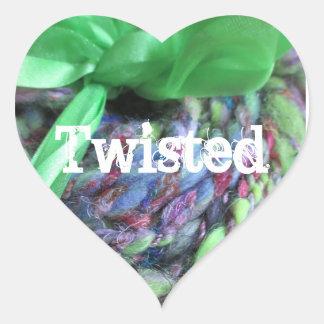 Twisted Heart Heart Sticker