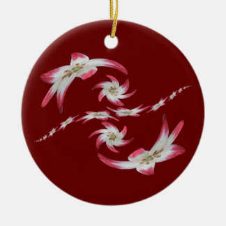 Twisted Lily ~ ornament