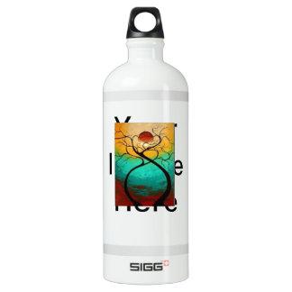 Twisted Love Tree Aluminum Water Bottle