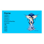 Twisted Marlins Business Card by FishTs