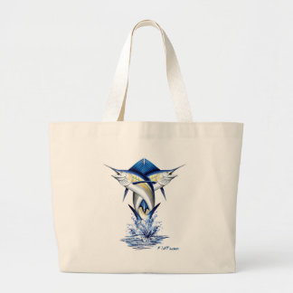 Twisted Marlins Jumping Tote Bag