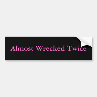 Twisted Metal Bumper Sticker