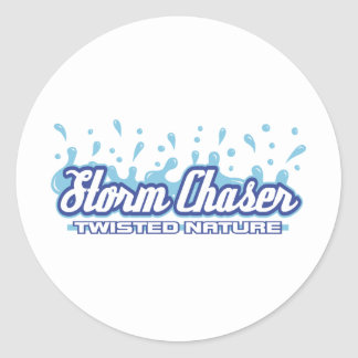 Twisted Nature Classic Round Sticker