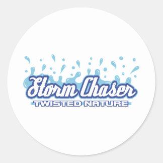Twisted Nature Classic Round Sticker