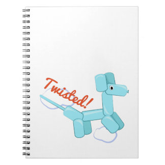 Twisted! Spiral Note Book