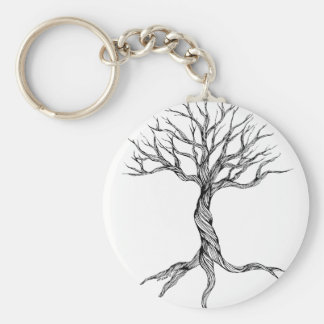 Twisted Old Tree keychain
