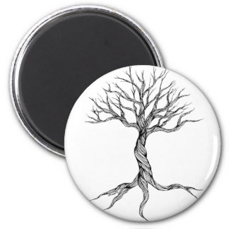 Twisted Old Tree magnet