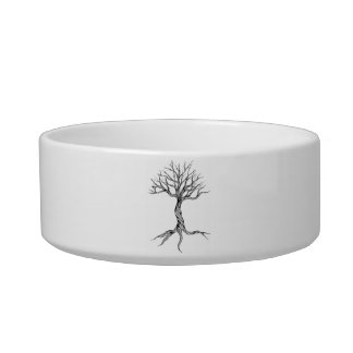 Twisted Old Tree pet bowl