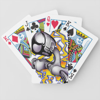 Twisted Piston Bicycle Playing Cards
