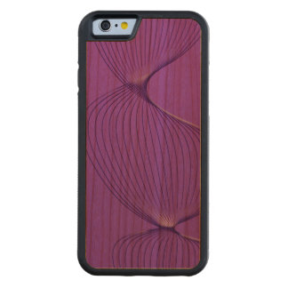 Twisted Purple Pain Signals Carved® Cherry iPhone 6 Bumper Case