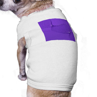 Twisted Purple Pain Signals Dog Tshirt