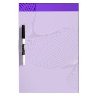 Twisted Purple Pain Signals Dry-Erase Boards