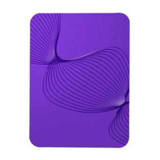 Twisted Purple Pain Signals Vinyl Magnet