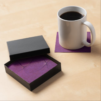 Twisted Purple Pain Signals Beverage Coasters