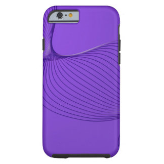 Twisted Purple Pain Signals Tough iPhone 6 Case