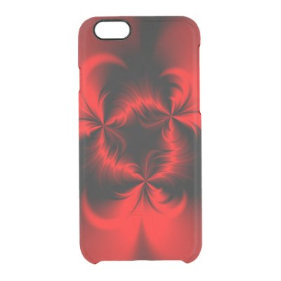 Twisted Red Uncommon Clearly™ Deflector iPhone 6 Case