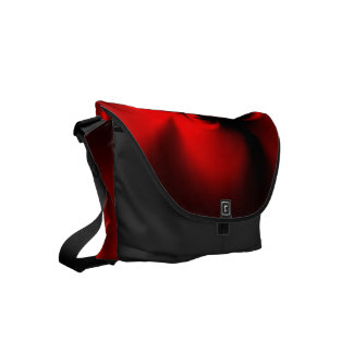 Twisted Red Small Messenger Bag