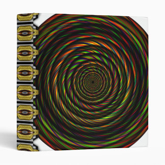 Twisted RGB Wires 3 Ring Binder