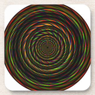 Twisted RGB Wires Drink Coaster
