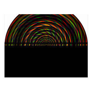 Twisted RGB Wires Postcard