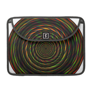 Twisted RGB Wires Sleeve For MacBooks