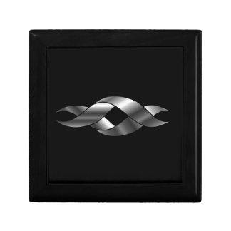 Twisted ribbon jewelry box