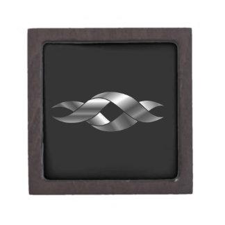 Twisted ribbon premium trinket box