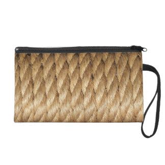 Twisted Rope Bag Wristlet Purse