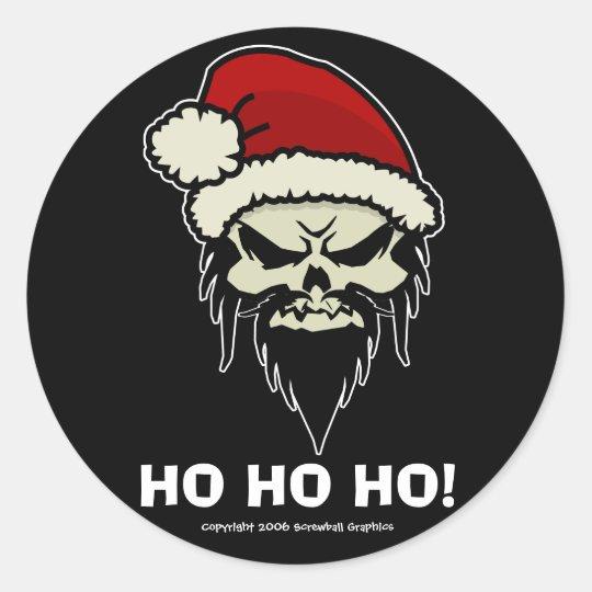 Twisted Santa Stickers