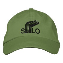 Twisted Silo Embroidered Baseball Cap