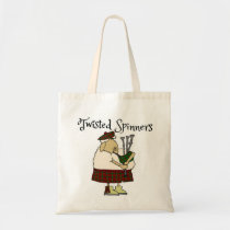 Twisted Spinner kilted sheep tote