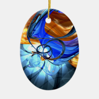 Twisted Spiral Abstract Ornament