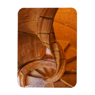 Twisted Spiral Staircase, Portugal Magnet