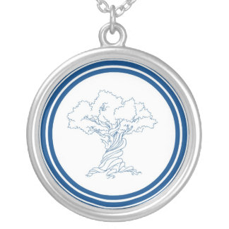 Twisted Tree Genealogist Necklace