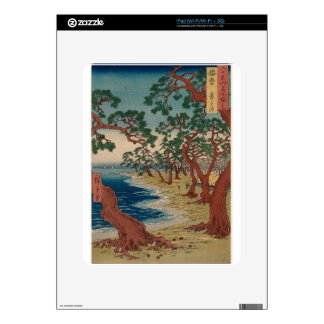 Twisted Trees by the Shore iPad Skin
