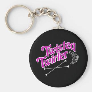 Twisted Twirler Keychain