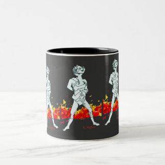 Twisted Two-Tone Coffee Mug