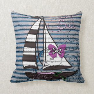 Twisted Vintage Throw Pillow
