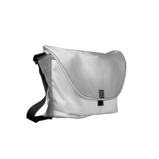 Twisted White Pearl Small Messenger Bag