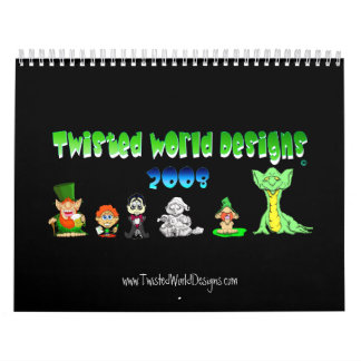 Twisted World Designs 2008 Calendar