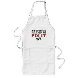 Twisted Wrench - FIX IT Long Apron