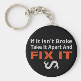 Twisted Wrench - FIX IT Key Chain